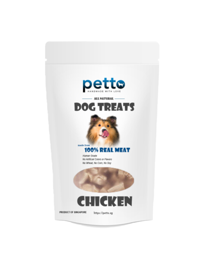 pettofood Dehydrated Chicken Dehydrated - Dog Treats 80g