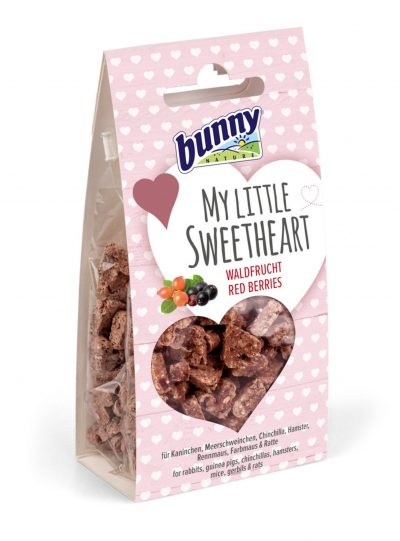 Bunny Nature My Little Sweetheart Red Berries Treats For Small Pet 30g