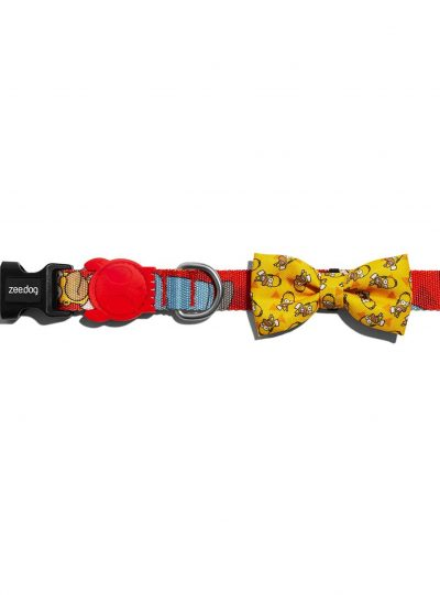 Zee Dog Homer Simpson Bow Tie Large