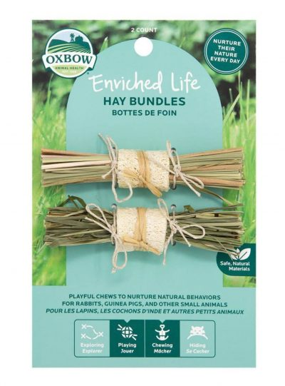 Oxbow Enriched Life Hay Bundles For Small Pets