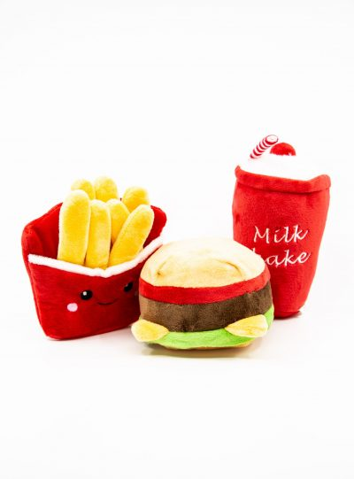 3 in 1 Mcdonald's Set - Dog Toy